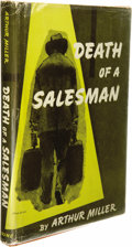 Books:Signed Editions, Arthur Miller: Signed First Edition of Death of a Salesman(New York: The Viking Press, 1949), first edition, 139 pages,...(Total: 1 Item)