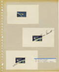 Explorers:Space Exploration, Lot of Eight Astronaut Signatures, including: Donald Holmquest,Karl C. Henize, Joseph P. Allen, Owen Garriott, William B. L...(Total: 8 Item)