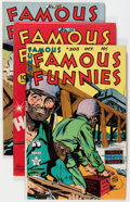 Golden Age (1938-1955):Miscellaneous, Famous Funnies Group (Eastern Color, 1945-54) Condition: Average VF/NM.... (Total: 5 Comic Books)