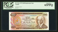 Canadian Currency: , BC-52aA $100 1975 Replacement Note *JA Prefix. ...