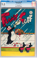 Golden Age (1938-1955):Funny Animal, Funny Stuff #22 (DC, 1947) CGC VF/NM 9.0 Off-white to whitepages....