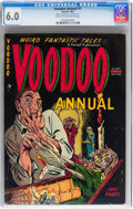 Golden Age (1938-1955):Horror, Voodoo Annual #1 (Farrell, 1952) CGC FN 6.0 Cream to off-whitepages....