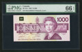 Canadian Currency: , BC-61a $1000 1988. ...