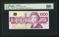 Canadian Currency: , BC-61a $1000 1988 . ...