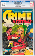 Golden Age (1938-1955):Horror, Crime Mysteries #15 (Ribage Publishing, 1954) CGC FN 6.0 Cream tooff-white pages....
