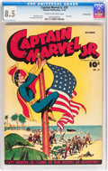Golden Age (1938-1955):Superhero, Captain Marvel Jr. #25 Crowley Copy pedigree (Fawcett Publications, 1944) CGC VF+ 8.5 Cream to off-white pages....