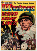 Golden Age (1938-1955):War, With the U.S. Paratroops Behind Enemy Lines #1 (Avon, 1951)Condition: VF....