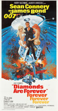 "Movie Posters:James Bond, Diamonds are Forever (United Artists, 1971). International ThreeSheet (41"" X 77"").. ..."