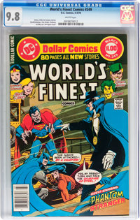 World's Finest Comics #249 (DC, 1978) CGC NM/MT 9.8 White pages