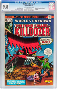Worlds Unknown #6 (Marvel, 1974) CGC NM/MT 9.8 Off-white to white pages
