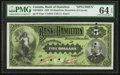 Canadian Currency: , Hamilton, ON- The Bank of Hamilton $5 June 1, 1892 Ch. # 345-16-02SSpecimen. ...
