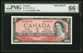 Canadian Currency: , BC-38S $2 1954 Specimen. ...