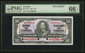 Canadian Currency: , BC-24S $10 1937 Specimen. ...