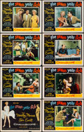 """Movie Posters:Comedy, The Seven Year Itch (20th Century Fox, 1955). Lobby Card Set of 8(11"""" X 14"""").. ... (Total: 8 Items)"""