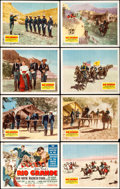"""Movie Posters:Western, Rio Grande (Republic, 1950). Lobby Card Set of 8 (11"""" X 14"""").. ... (Total: 8 Items)"""