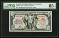 Canadian Currency: , Toronto, ON- The Canadian Bank of Commerce $5 Jan. 2, 1935 Ch. #75-18-02 . ...