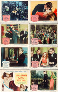 "Movie Posters:Film Noir, Gilda (Columbia, 1946). Lobby Card Set of 8 (11"" X 14"").. ...(Total: 8 Items)"