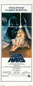 "Movie Posters:Science Fiction, Star Wars (20th Century Fox, 1977). Insert (14"" X 36"").. ..."