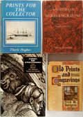 Books:Prints & Leaves, Group of Four Books Related to Prints and Printmaking. Variouspublishers, mid twentieth century. Quartos. Publishers' bindi...(Total: 4 Items)