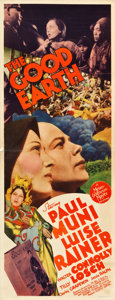 "Movie Posters:Drama, The Good Earth (MGM, 1937). Insert (14"" X 36"").. ..."