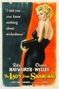 "Movie Posters:Film Noir, The Lady from Shanghai (Columbia, 1947). One Sheet (27.25"" X 41"")....."