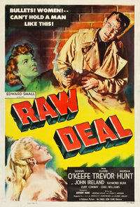 """Raw Deal (Eagle Lion, 1948). One Sheet (27.5"""" X 40.75"""")"""
