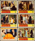 "Movie Posters:Comedy, Bachelor Apartment (RKO, 1931). Title Lobby Card and Lobby Cards (5) (11"" X 14"").. ... (Total: 6 Items)"