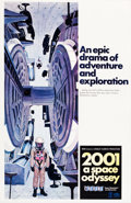 "Movie Posters:Science Fiction, 2001: A Space Odyssey (MGM, 1968). One Sheet (27"" X 41.25"") StyleC.. ..."