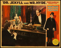 "Dr. Jekyll and Mr. Hyde (Paramount, 1931). Lobby Card (11"" X 14"")"