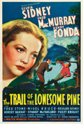 "Movie Posters:Drama, The Trail of the Lonesome Pine (Paramount, 1936). One Sheet (27.25""X 41"").. ..."