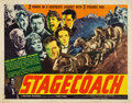 "Movie Posters:Western, Stagecoach (United Artists, 1939). Half Sheet (22"" X 28"") Style A....."