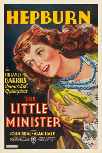 "The Little Minister (RKO, 1934). One Sheet (27"" X 41"")"
