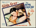 "Movie Posters:Drama, The Devil Dancer (United Artists, 1927). Lobby Card (11"" X 14"")....."