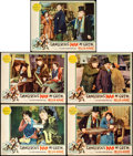 """Movie Posters:Comedy, Dangerous """"Nan"""" McGrew (Paramount, 1930). Lobby Cards (5) (11"""" X14"""").. ... (Total: 5 Items)"""