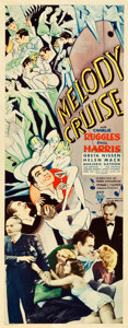 "Movie Posters:Musical, Melody Cruise (RKO, 1933). Insert (14"" X 36"").. ..."