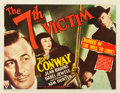"Movie Posters:Mystery, The Seventh Victim (RKO, 1943). Half Sheet (22"" X 28"") Style A....."