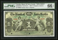 Canadian Currency: , Kingston, Jamaica- The Bank of Nova Scotia £1 January 2, 1900 Ch. # 550-38-02-02S Specimen . ...