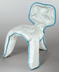 Furniture : Continental, CHRIS KABEL (Dutch, b. 1975). Seam chair, 2009.Polypropylene. 25-5/8 x 17-3/4 x 23-5/8 inches (65 x 45 x 60 cm).Unique...