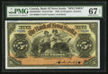 Canadian Currency: , Kingston, Jamaica- The Bank of Nova Scotia £5 January 2, 1920 Ch. #550-38-02-08S Specimen. ...