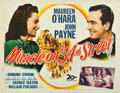 "Miracle on 34th Street (20th Century Fox, 1947). Half Sheet (22"" X 28"")"
