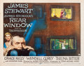 "Movie Posters:Hitchcock, Rear Window (Paramount, 1954). Half Sheet (22"" X 28"") Style A.. ..."