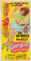 "Movie Posters:Musical, Cover Girl (Columbia, 1944). Three Sheet (41"" X 81"").. ..."