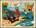 "Movie Posters:Animation, Don Quixote (Powers ComiColor, 1934). Lobby Card (11"" X 14"").. ..."