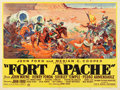 "Movie Posters:Western, Fort Apache (RKO, 1948). British Quad (30"" X 40"").. ..."