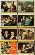 "Movie Posters:Drama, Mrs. Miniver (MGM, 1942). Lobby Card Set of 8 (11"" X 14"").. ..."