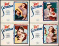 "Movie Posters:Drama, Hot Saturday (Paramount, 1932). Lobby Cards (4) (11"" X 14"").. ...(Total: 4 Items)"