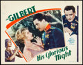 "Movie Posters:Drama, His Glorious Night (MGM, 1929). Lobby Card (11"" X 14"").. ..."