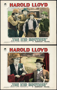"The Kid Brother (Paramount, 1927). Lobby Cards (2) (11"" X 14""). ... (Total: 2 Items)"