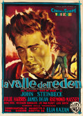 "Movie Posters:Drama, East of Eden (Warner Brothers, 1955). Italian 4 - Foglio (55"" X77"").. ..."