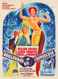 "Movie Posters:Film Noir, Sunset Boulevard (Paramount, 1950). French Grande (46.5"" X 62.75"").. ..."